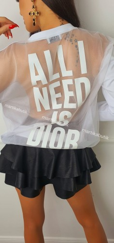 Bluza All I Need... transparent